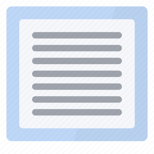 layout, page, view icon