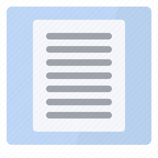 one, page, view icon