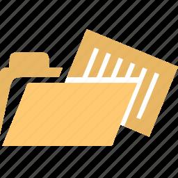 dir, docs, document, documents, file, files, open folder icon