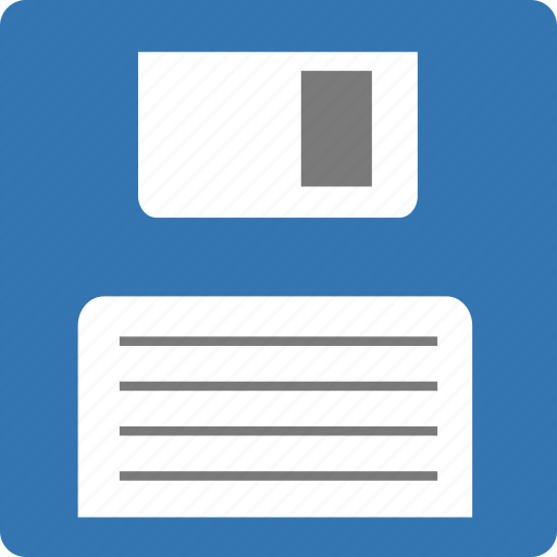 disk, diskette, drive, floppy, old disk, save as, storage icon