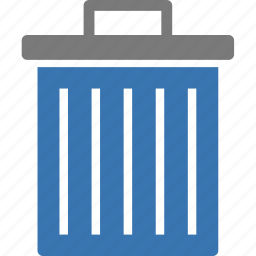 delete, erase, garbage, recycle, remove, trash, trashcan icon