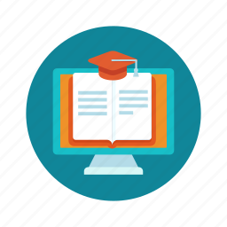 e-book, education, internet, learning, online, read, tutorial icon
