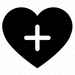 add, heart, like, love icon