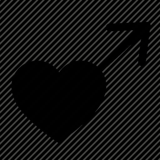 gay, heart, love, man, romantic icon
