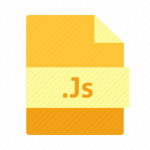 document, extension, file, java script, js, name, page icon icon