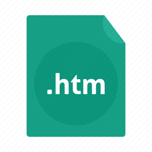 File, htm, name, page icon - Download on Iconfinder