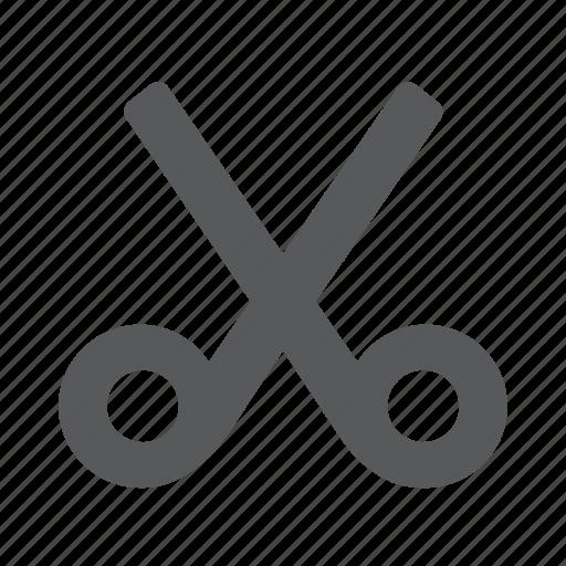 crop, cut, scissors icon
