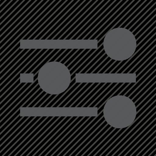 equalizer, preferences, settings, slider, sliders icon