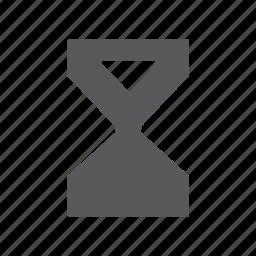 clock, hour, hourglass, sand, sandglass, time, timer icon