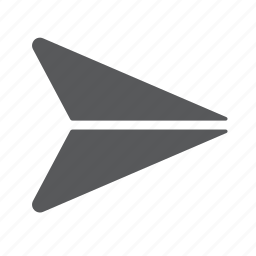 email, mail, paper, plane, send icon