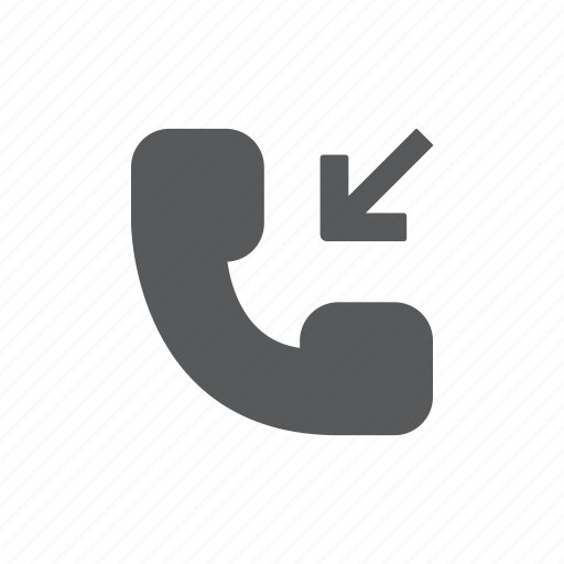 phone, received, talk, telephone icon