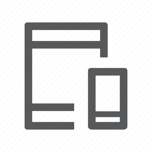 connection, devices, ipad, mobile, network, phone, tablet icon
