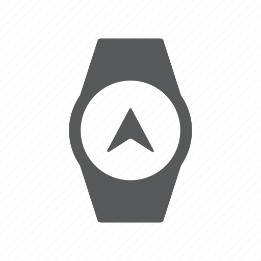 clock, gps, health, time, watch icon