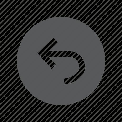 arrow, left, sign, traffic, turn icon