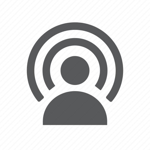 frequency, network, radio, signal, wifi icon