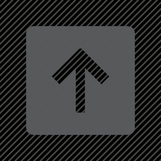 arrow, send, up, upload icon