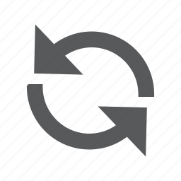 arrows, recycle, refresh, reload, renew, restart, retry icon