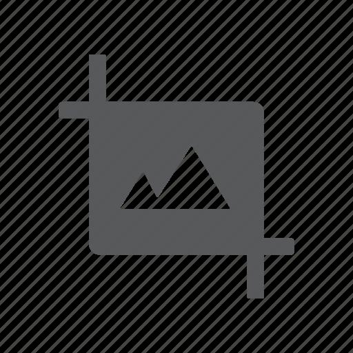 edit, image, landscape, picture, resize, scale icon