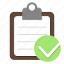 checklist, list, organizer, plan, sport, tasks, tracklist icon