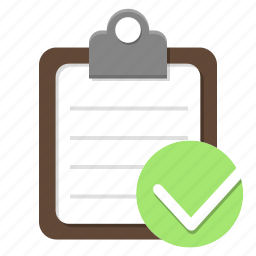 check, checklist, checkmark, fitness, goal, gym, list, manage, management, organizer, plan, sport, strategy, task, tasks, time, track, tracklist icon