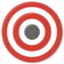 aim, bullseye, dart, goal, purpose, sports, target icon