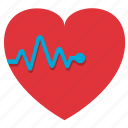 cardiogram, fitness, gym, health, healthy, heart, heartbeating icon