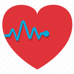 cardiogram, fitness, gym, health, healthy, heart, heartbeating, medicine, palpitation, sport, sports, stamina icon