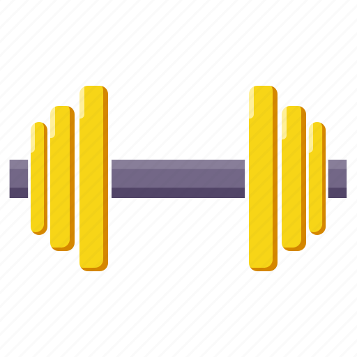 barbell, dumbbell, exercise, gym, sport, stamina, workout icon