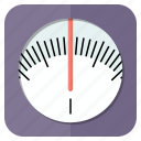 balance, body, fitness, kg, measurement, scale, weight icon