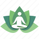 gym, meditation, relax, relaxation, stamina, yoga, zen icon