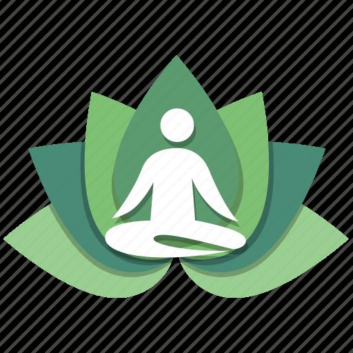gym, meditation, relax, relaxation, stamina, yoga, zen icon