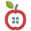 apple, food, nutrition, snack, diet, fruit
