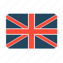 country, flag, great britain icon