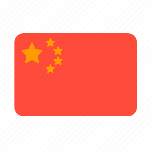 asian, china, country, flag, money icon