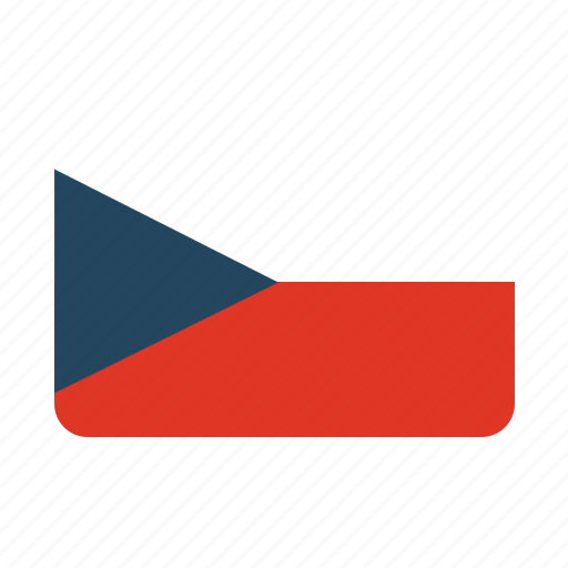 country, czech republic, flag icon