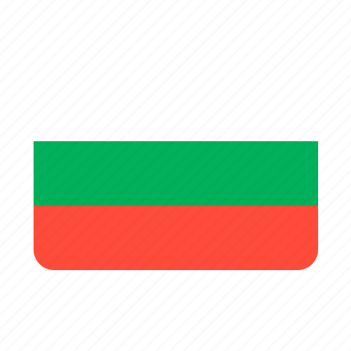 bulgaria, country, flag, flags icon