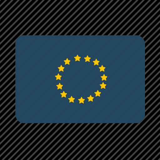 austria, euro, european, european union, flag, germany, italy, portugal, spain icon