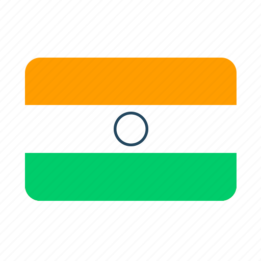 flag, flags, india, traffic, travel icon