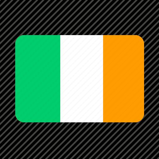 country, flag, ireland, irish icon