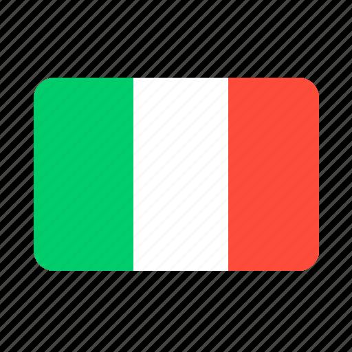 country, euro, flag, flags, italian, italy, pasta, pizza icon