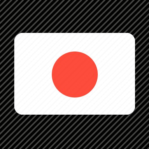 asian, flag, japan, japanese, samurai icon