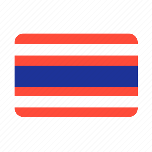 cheap, country, flag, flags, hot, sun, thailand icon