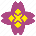 bud, complex, flower, plant icon