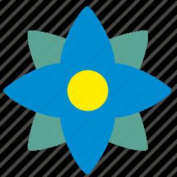 bud, complex, flower, plant, rowan icon