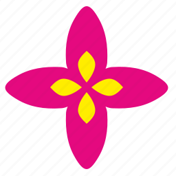 astra, bud, flower, plant icon