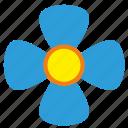 bud, flower, plant, rowan, vlue icon