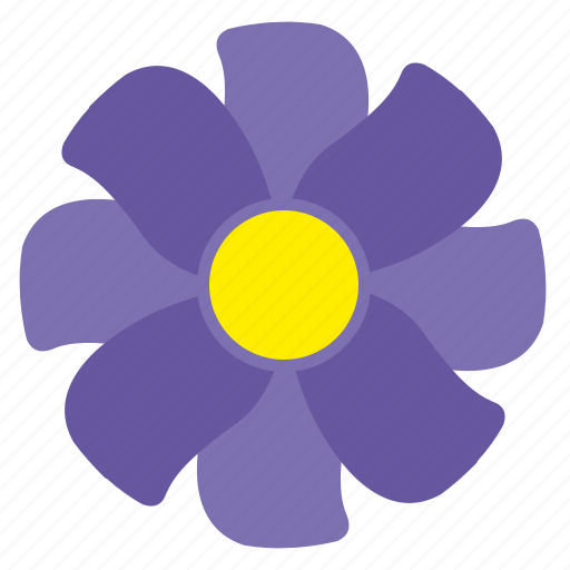 bud, flower, plant, violet icon