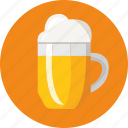 beer, food, glass icon