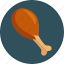 chicken, food, kitchen, leg icon