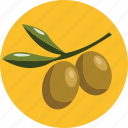 food, olives icon